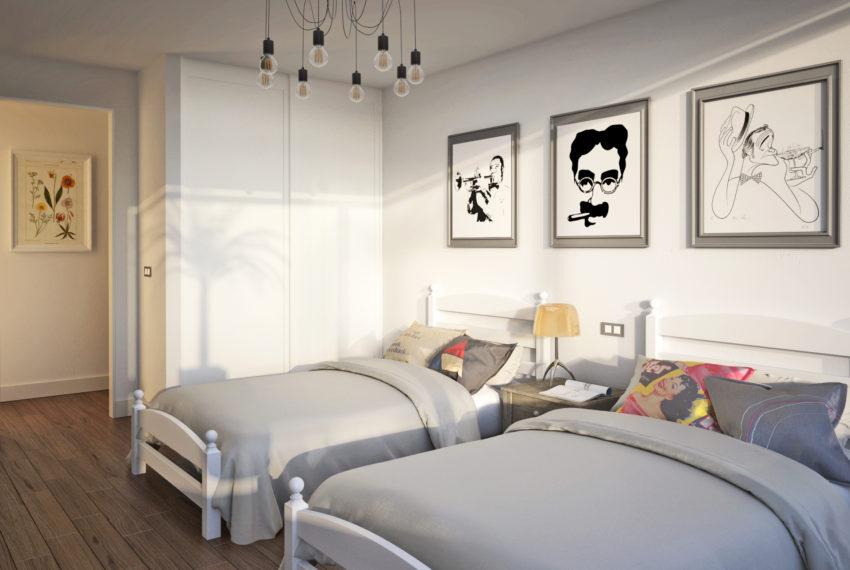 Interior 4 - Dormitorio secundario